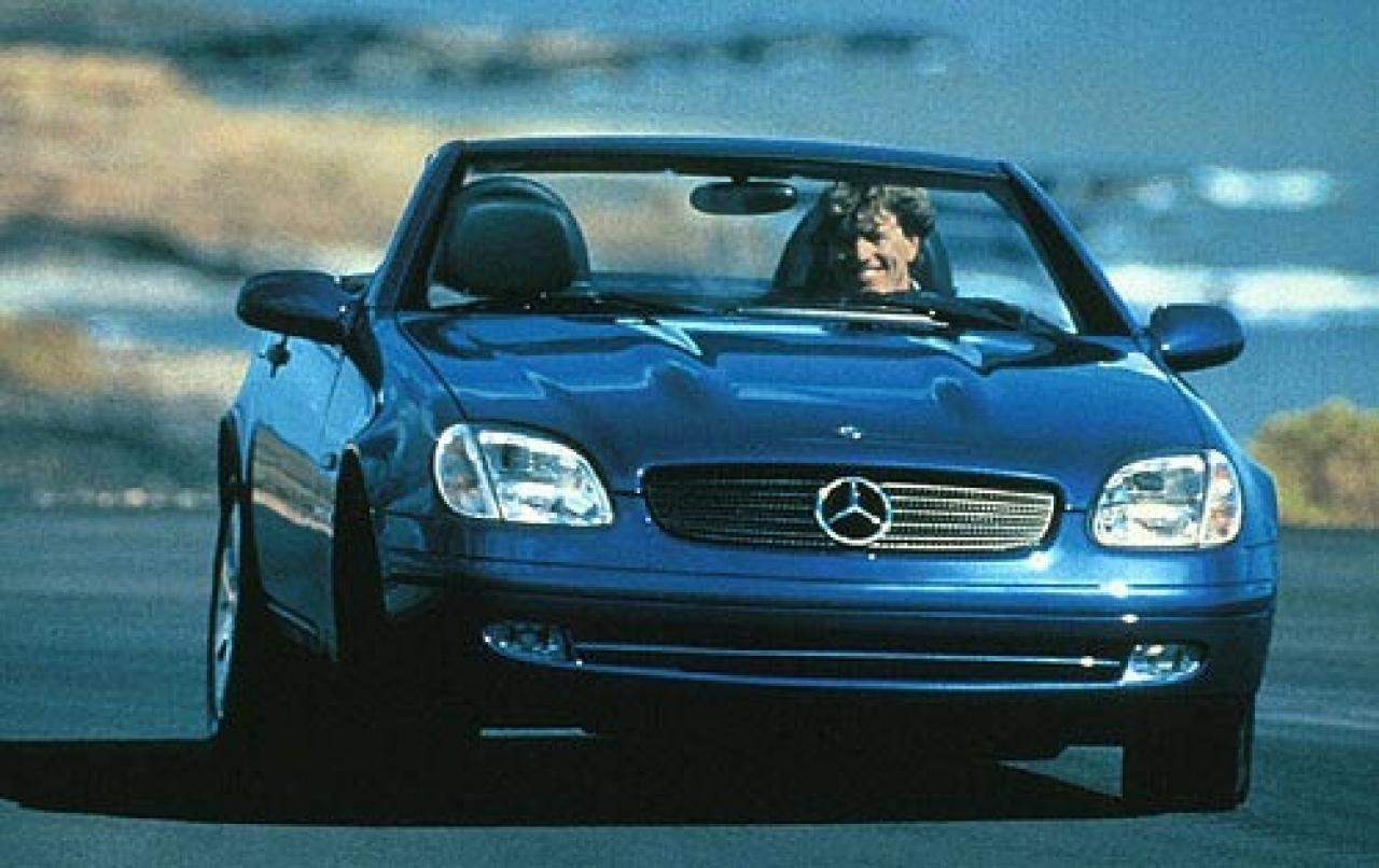 1998 mercedes benz slk class information and photos zombiedrive. Black Bedroom Furniture Sets. Home Design Ideas