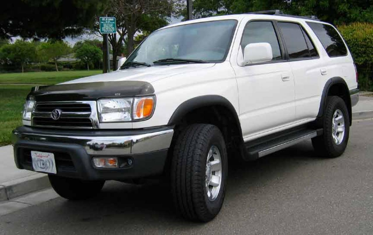 1999 toyota 4runner information and photos zombiedrive. Black Bedroom Furniture Sets. Home Design Ideas