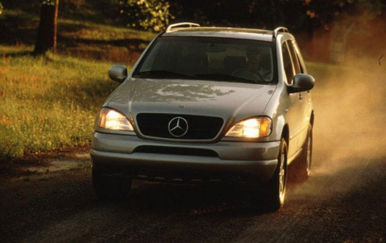 1999 Mercedes Benz M Class Information And Photos