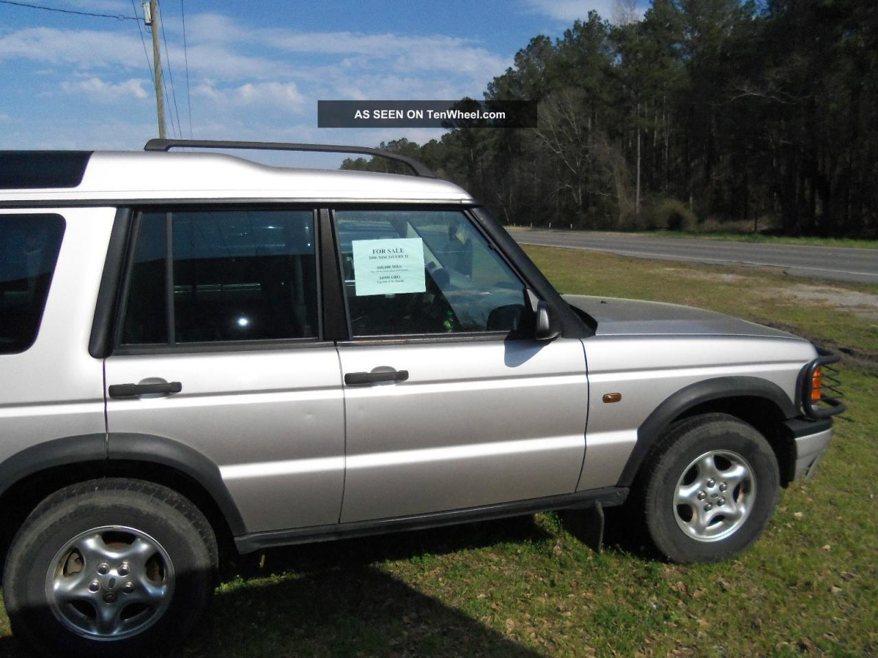 2000 land rover discovery series ii information and. Black Bedroom Furniture Sets. Home Design Ideas