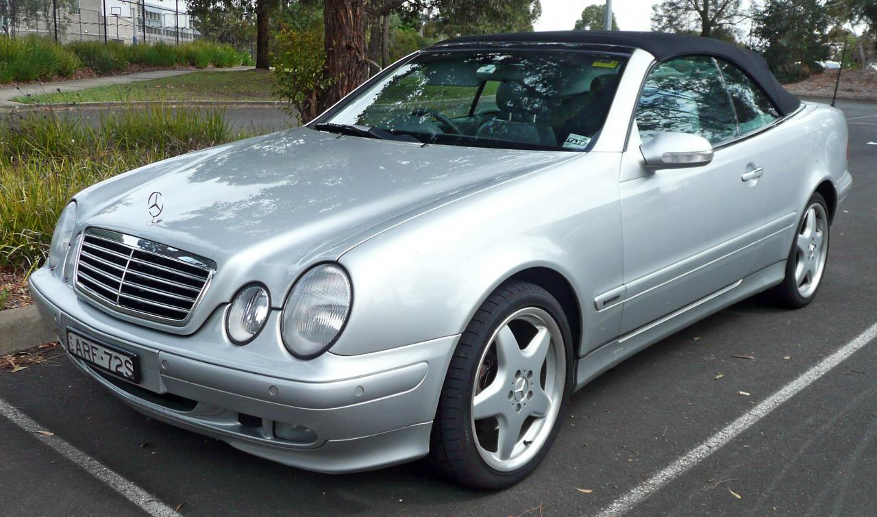 2000 mercedes benz clk class information and photos for Facts about mercedes benz