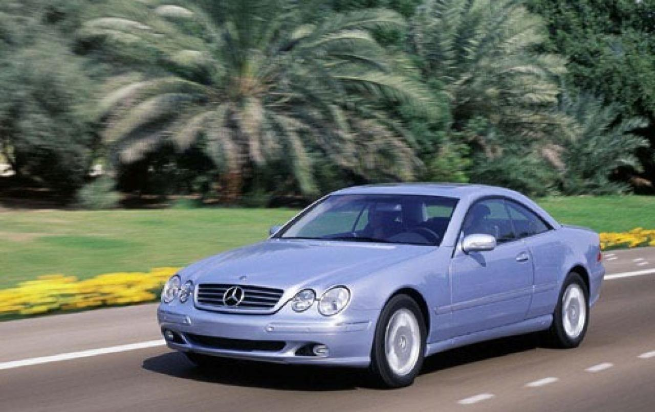 2000 mercedes benz cl class information and photos zombiedrive. Black Bedroom Furniture Sets. Home Design Ideas
