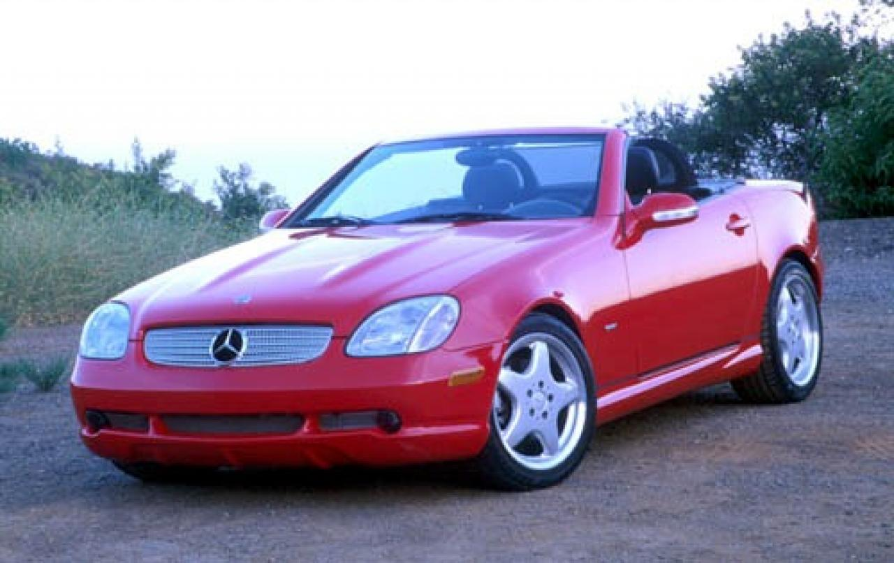 2000 mercedes benz slk class information and photos zombiedrive. Black Bedroom Furniture Sets. Home Design Ideas