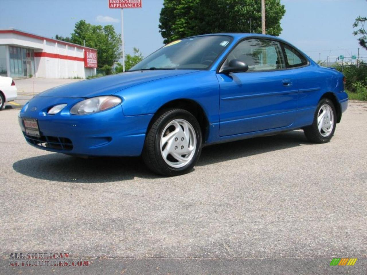 2001 Ford Escort Information And Photos Zombiedrive
