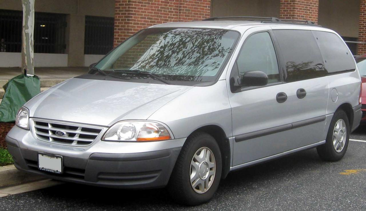 2001 Ford Windstar Information And Photos Zombiedrive