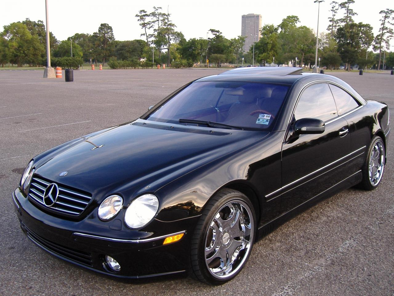 2001 mercedes benz cl class information and photos