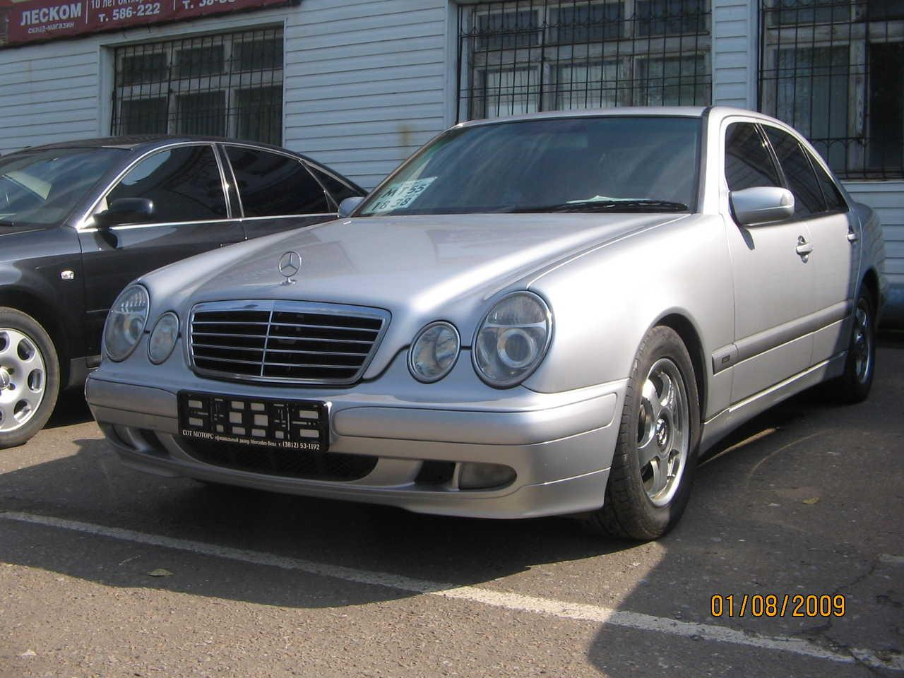 2001 mercedes benz e class information and photos zombiedrive. Black Bedroom Furniture Sets. Home Design Ideas