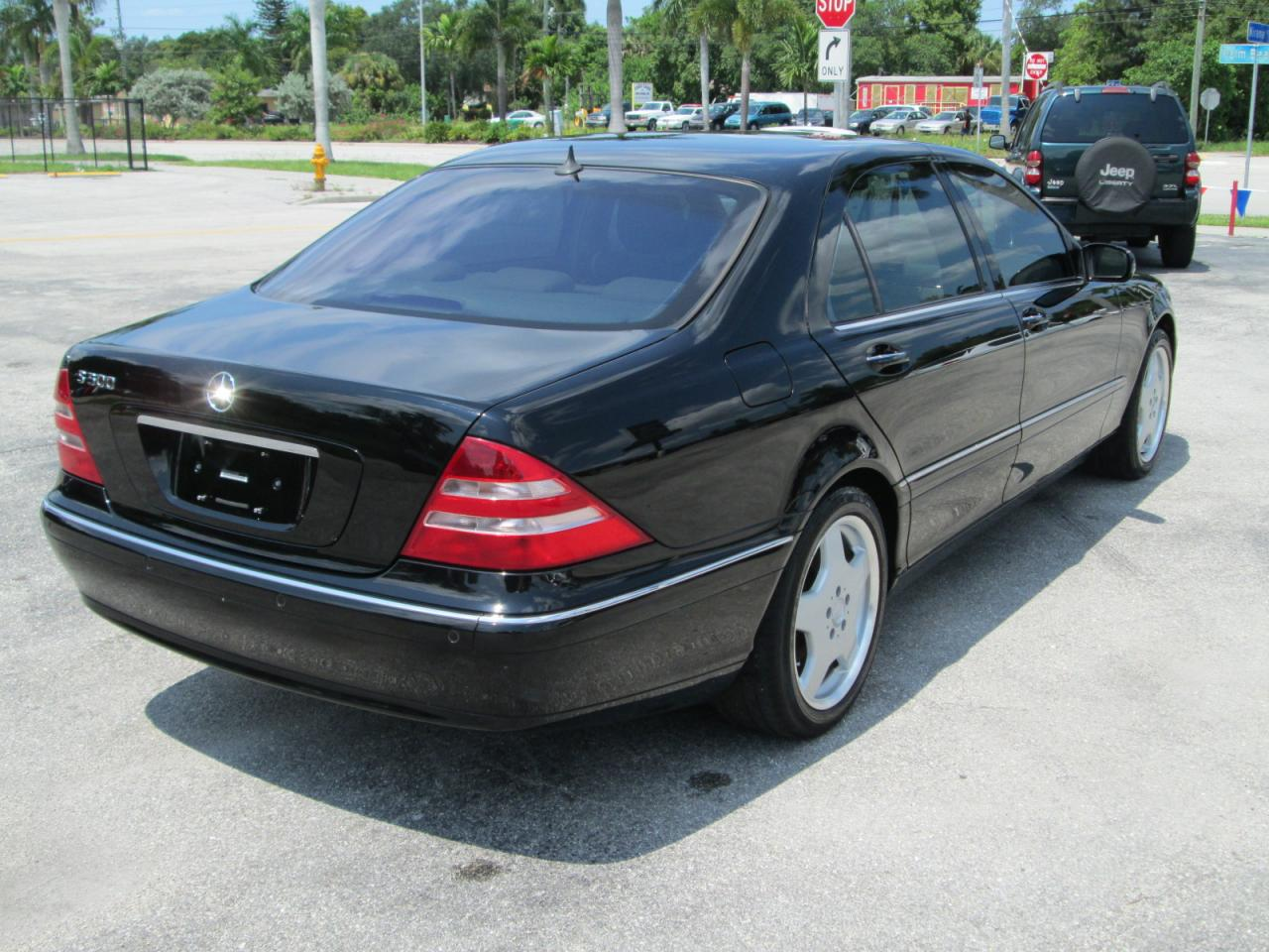 2001 mercedes benz s class information and photos for Mercedes benz s class 2001
