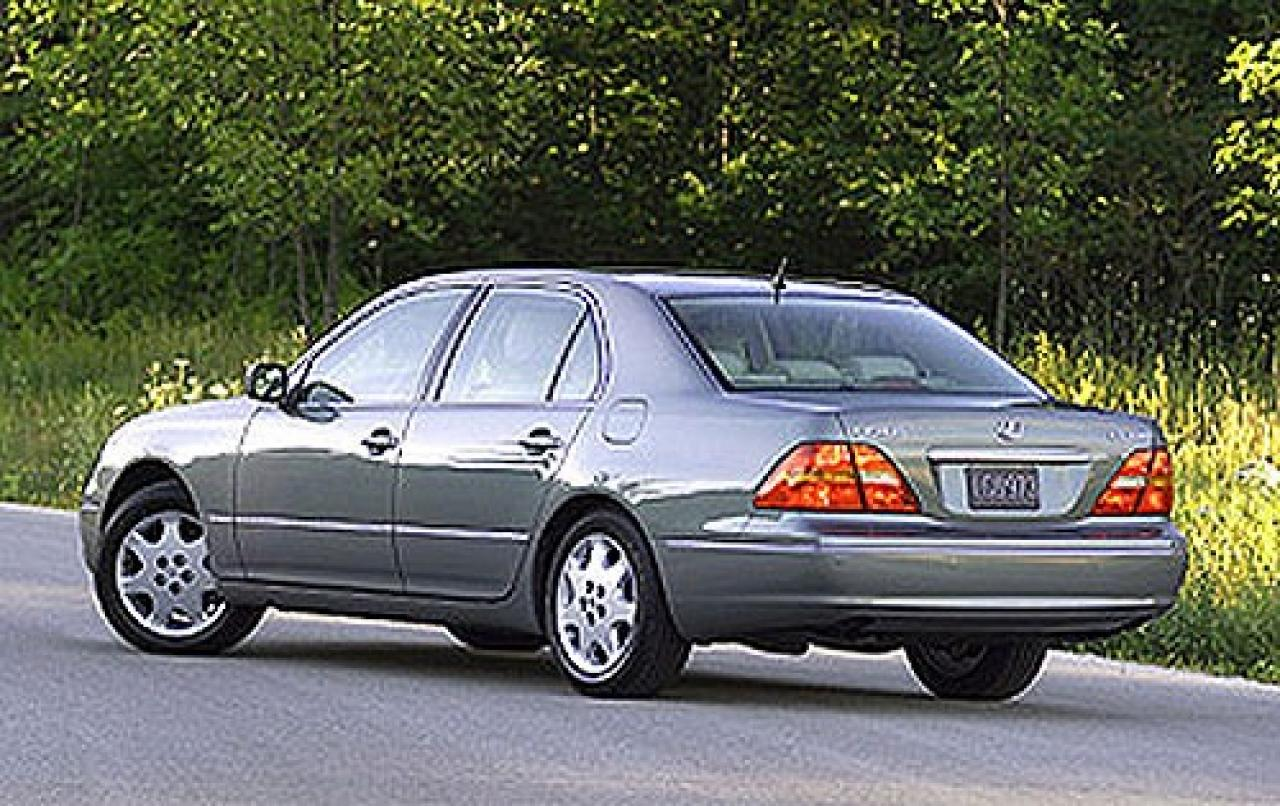 2001 lexus ls 430 information and photos zombiedrive. Black Bedroom Furniture Sets. Home Design Ideas