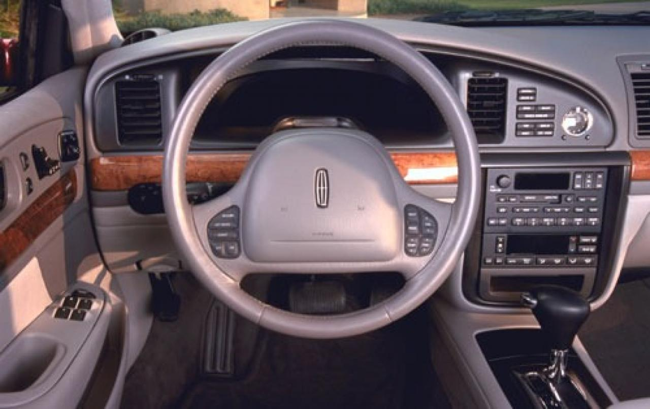 2001 lincoln continental information and photos. Black Bedroom Furniture Sets. Home Design Ideas