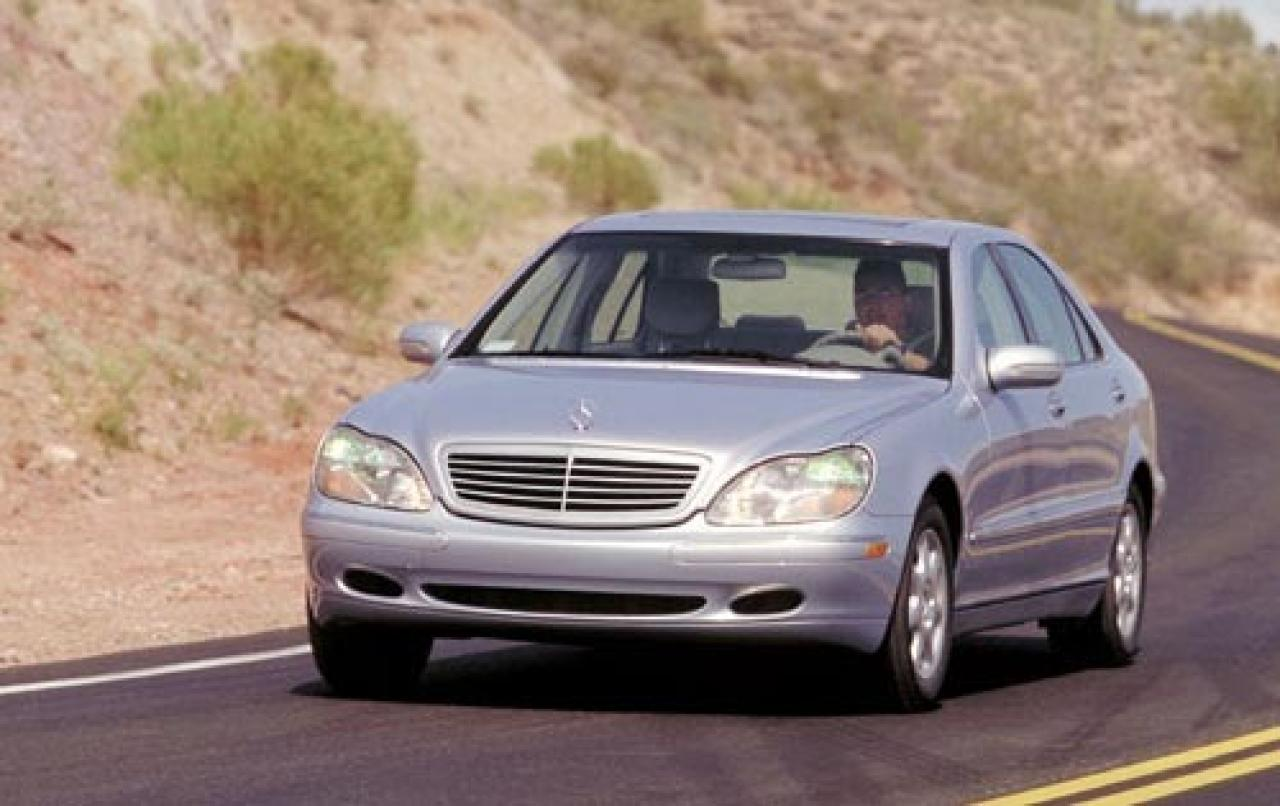 2002 mercedes benz s class information and photos for Mercedes benz s class 2001