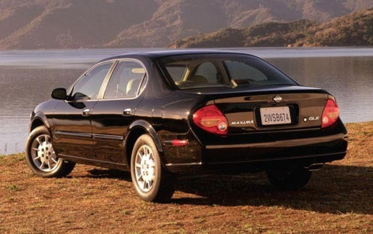 2001 nissan maxima information and photos zombiedrive for Nissan maxima motor oil type