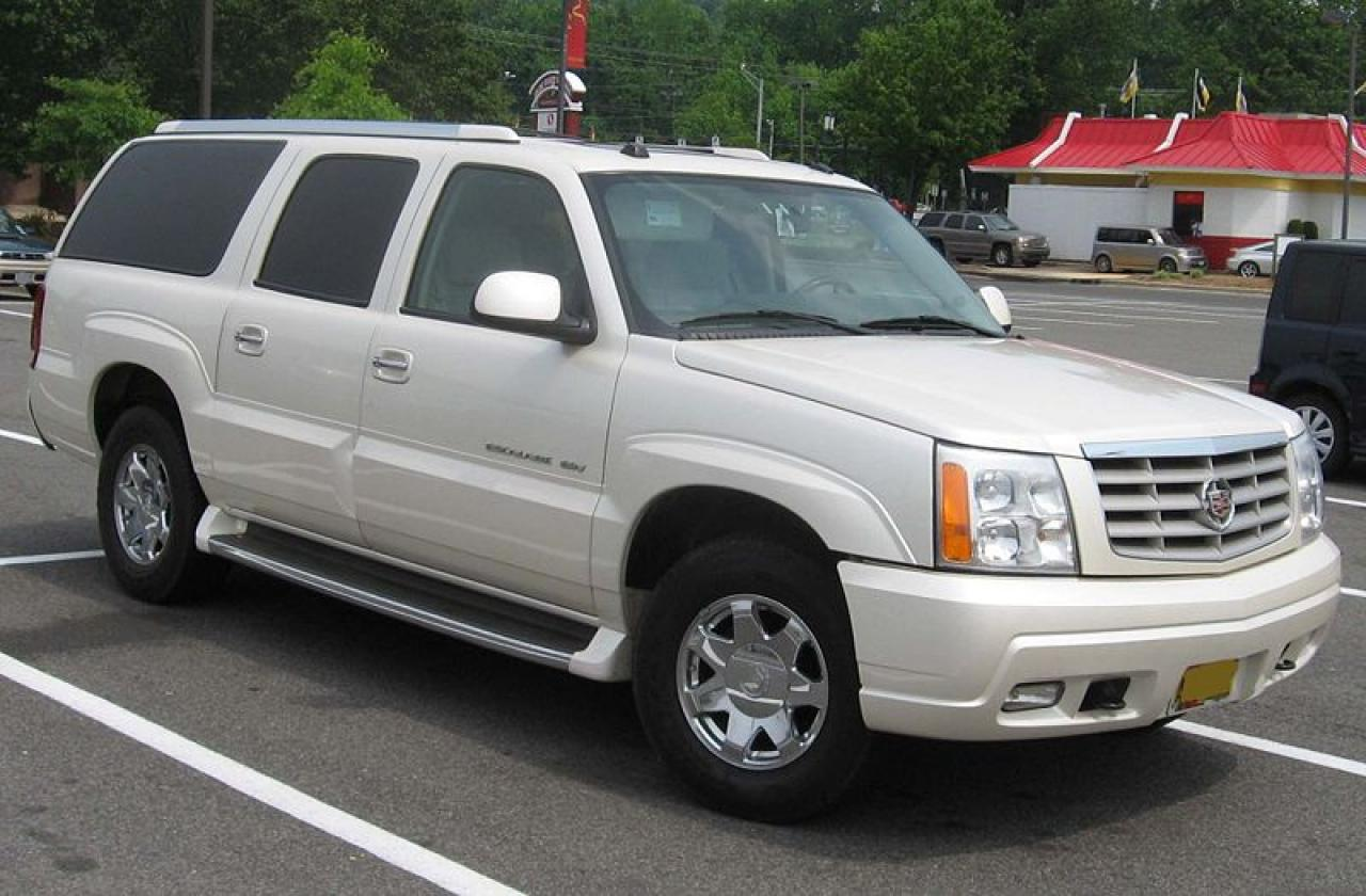 2002 Cadillac Escalade Information And Photos ZombieDrive