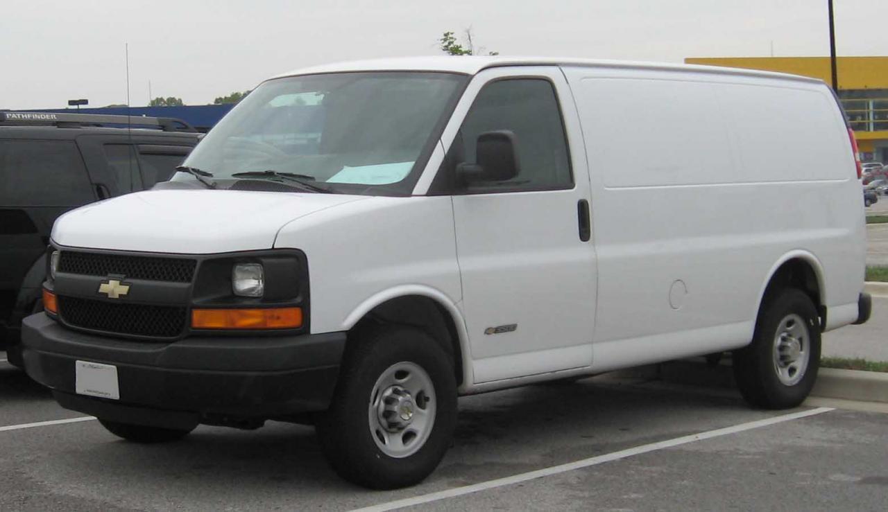 800 1024 1280 1600 origin 2002 Chevrolet Express Cargo ...