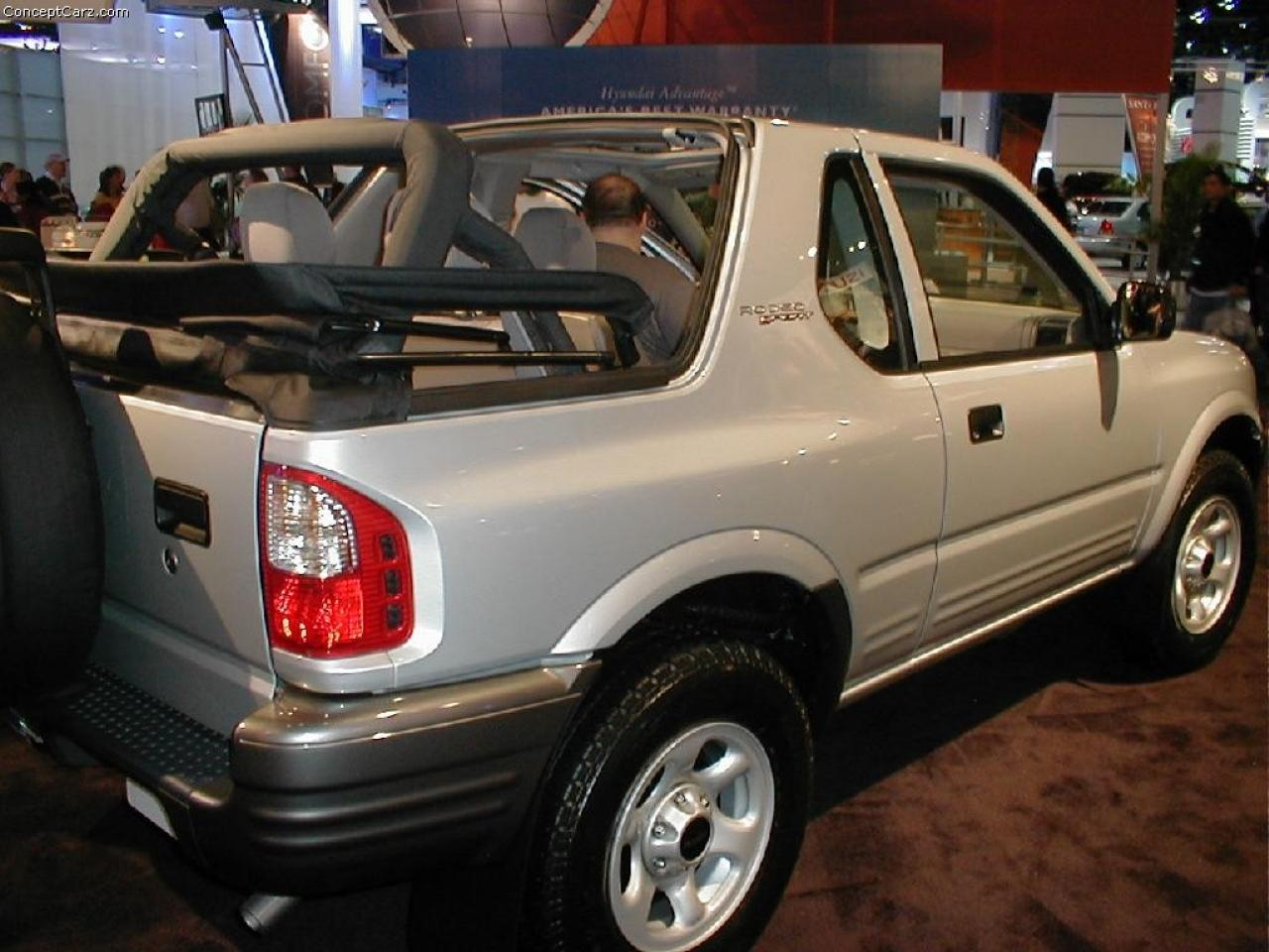2002 Isuzu Rodeo Sport Information And Photos Zomb Drive