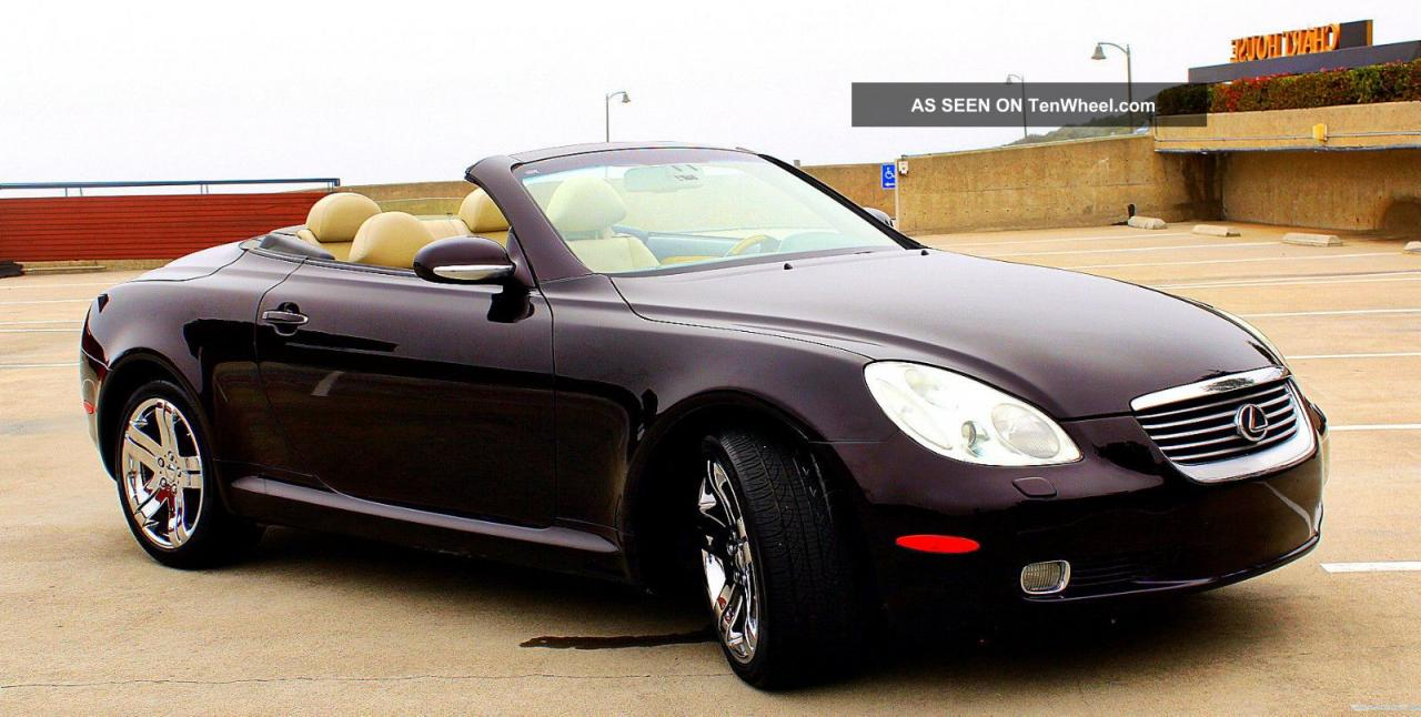 2002 lexus sc 430 information and photos zombiedrive. Black Bedroom Furniture Sets. Home Design Ideas