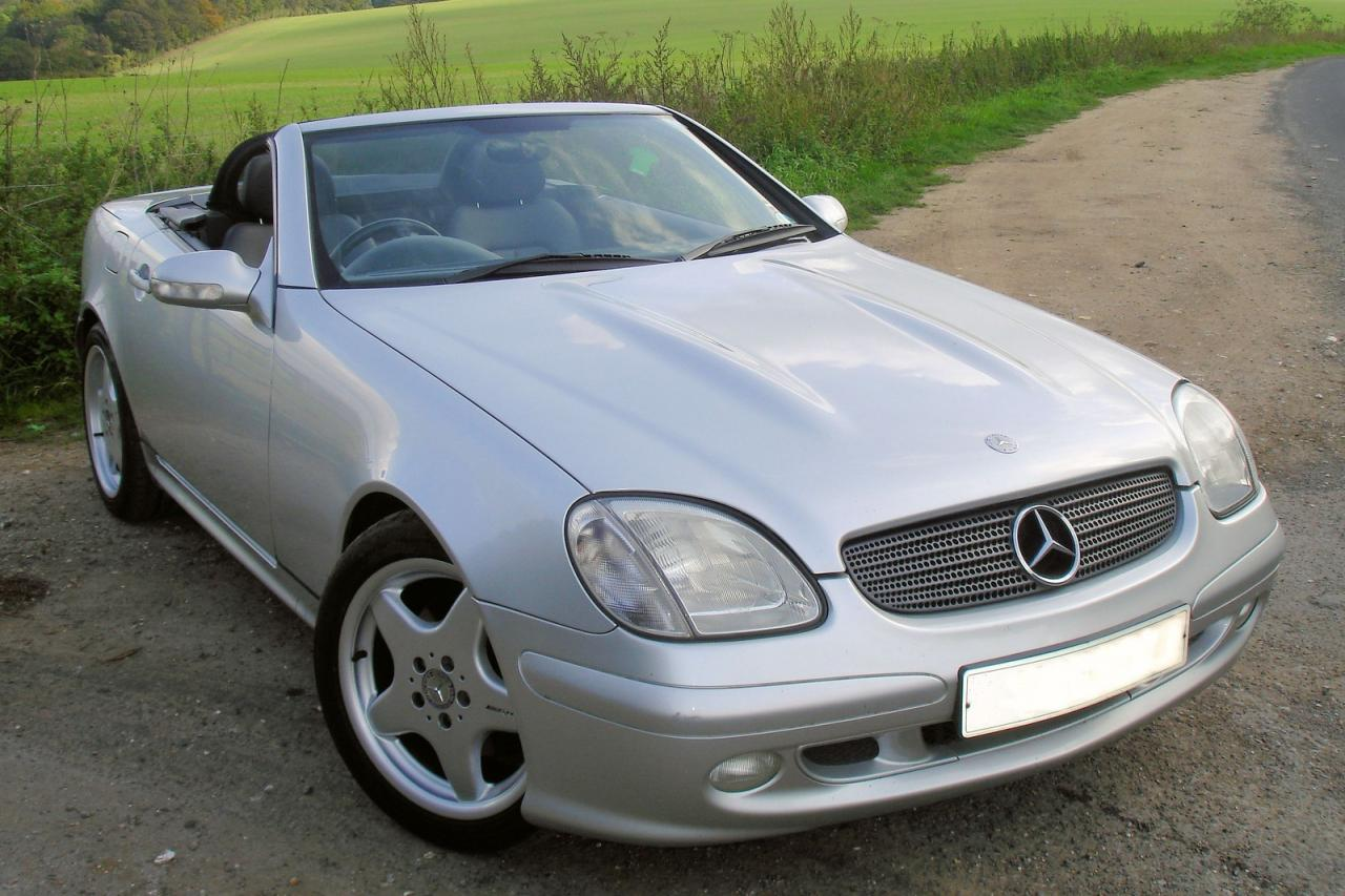 2002 mercedes benz slk class information and photos zombiedrive. Black Bedroom Furniture Sets. Home Design Ideas