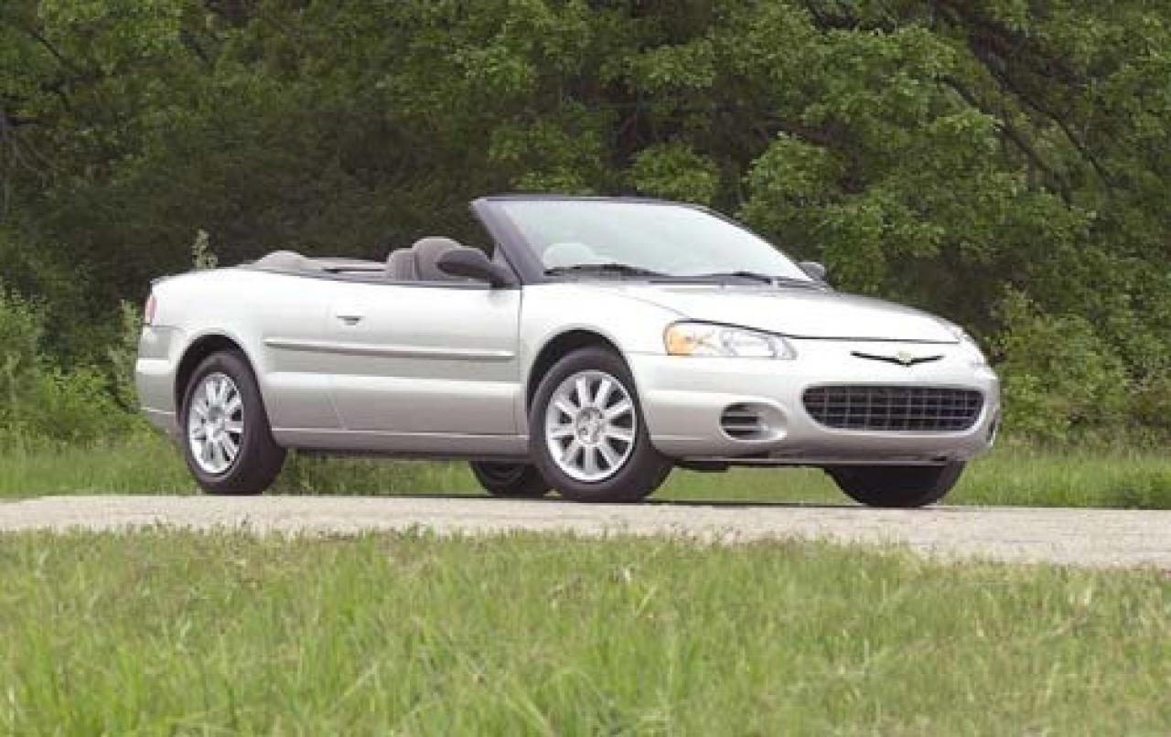 2002 chrysler sebring information and photos zombiedrive. Black Bedroom Furniture Sets. Home Design Ideas