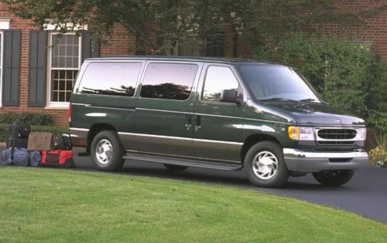 2003 ford econoline wagon information and photos. Black Bedroom Furniture Sets. Home Design Ideas