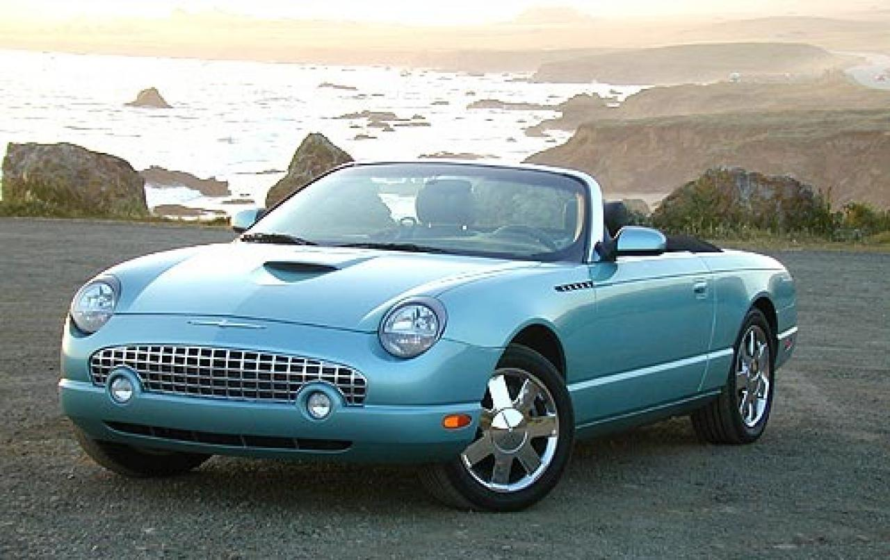 2005 ford thunderbird information and photos zombiedrive. Cars Review. Best American Auto & Cars Review