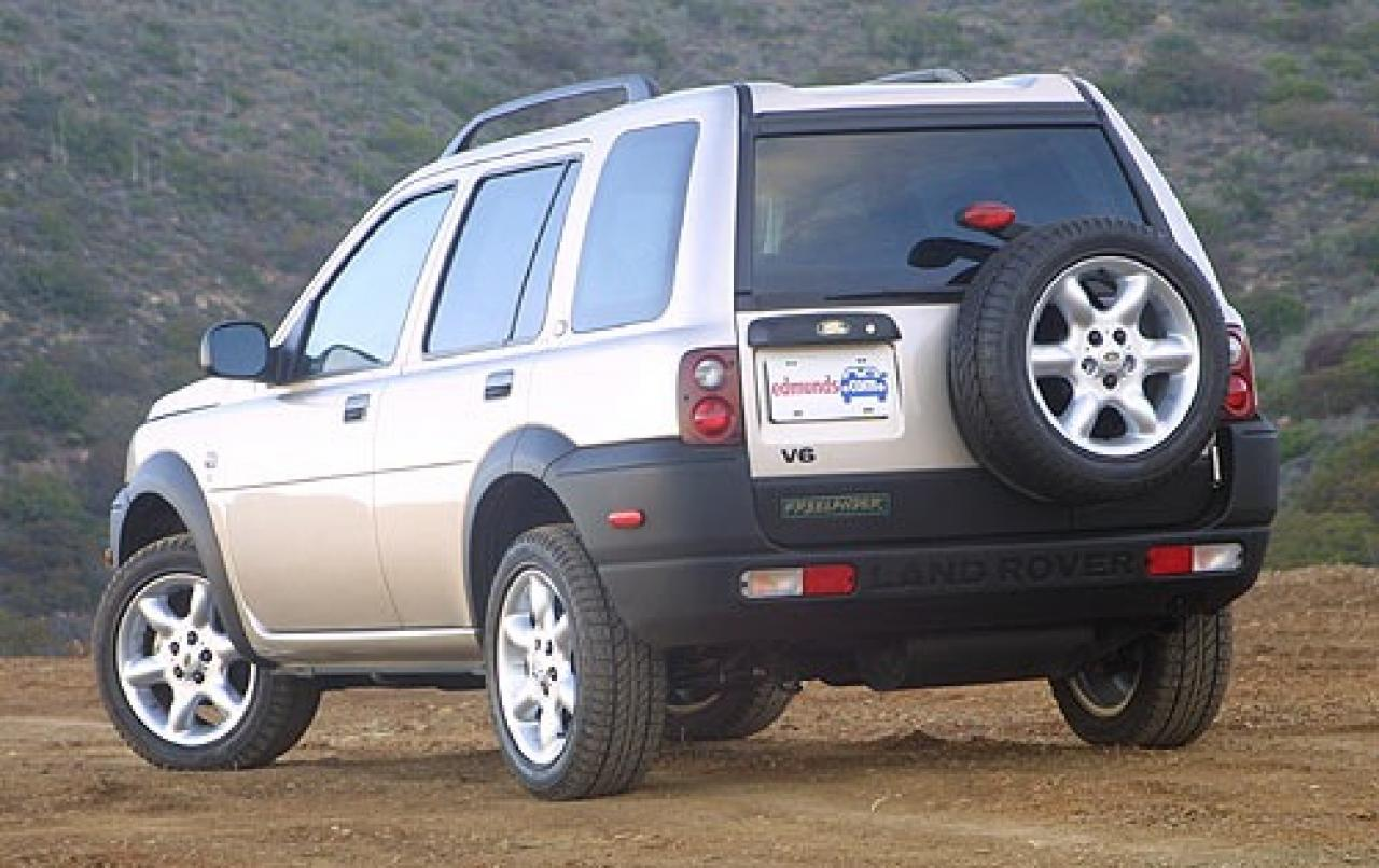 2003 land rover freelander information and photos zombiedrive. Black Bedroom Furniture Sets. Home Design Ideas