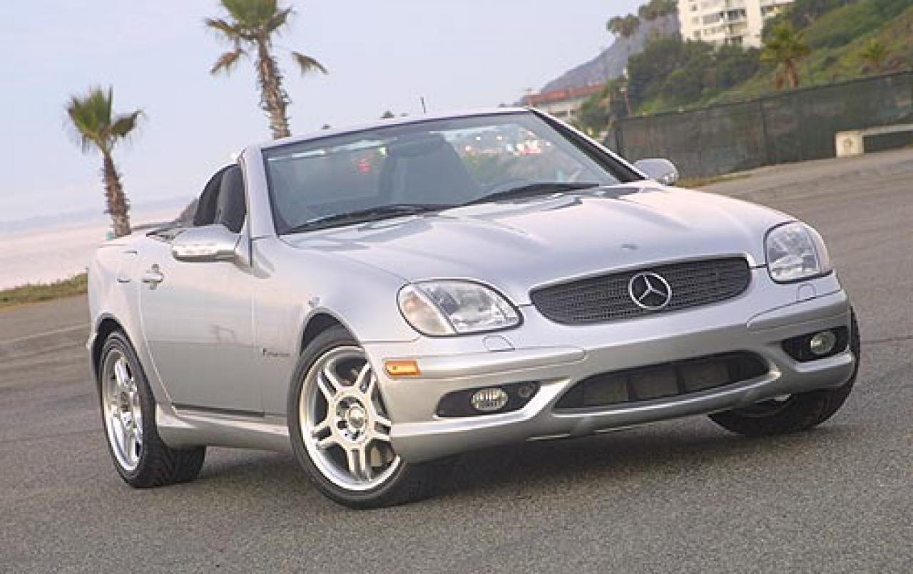 2003 mercedes benz slk class information and photos. Black Bedroom Furniture Sets. Home Design Ideas