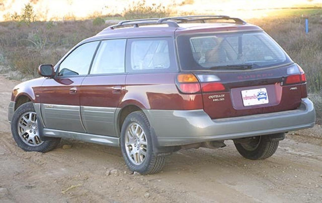 2003 subaru outback information and photos zombiedrive. Black Bedroom Furniture Sets. Home Design Ideas