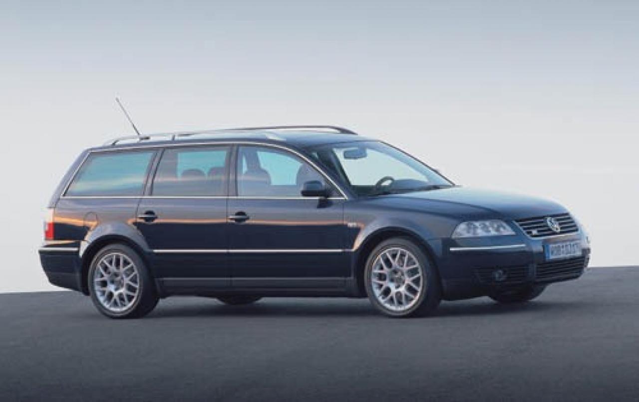 2003 passat wagon w8