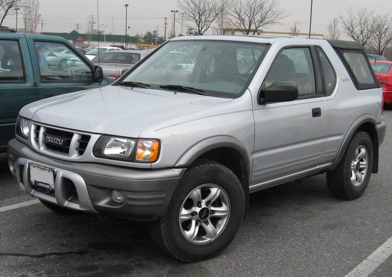 2003 isuzu rodeo sport information and photos zombiedrive. Black Bedroom Furniture Sets. Home Design Ideas