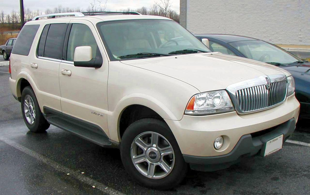 2003 lincoln aviator information and photos zombiedrive. Black Bedroom Furniture Sets. Home Design Ideas
