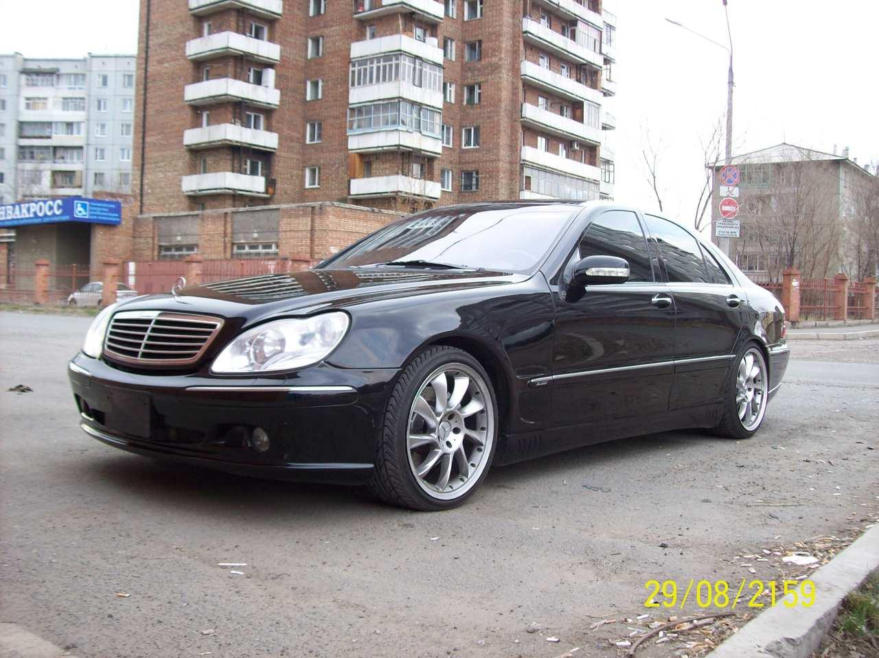2003 mercedes benz s class information and photos zombiedrive. Black Bedroom Furniture Sets. Home Design Ideas