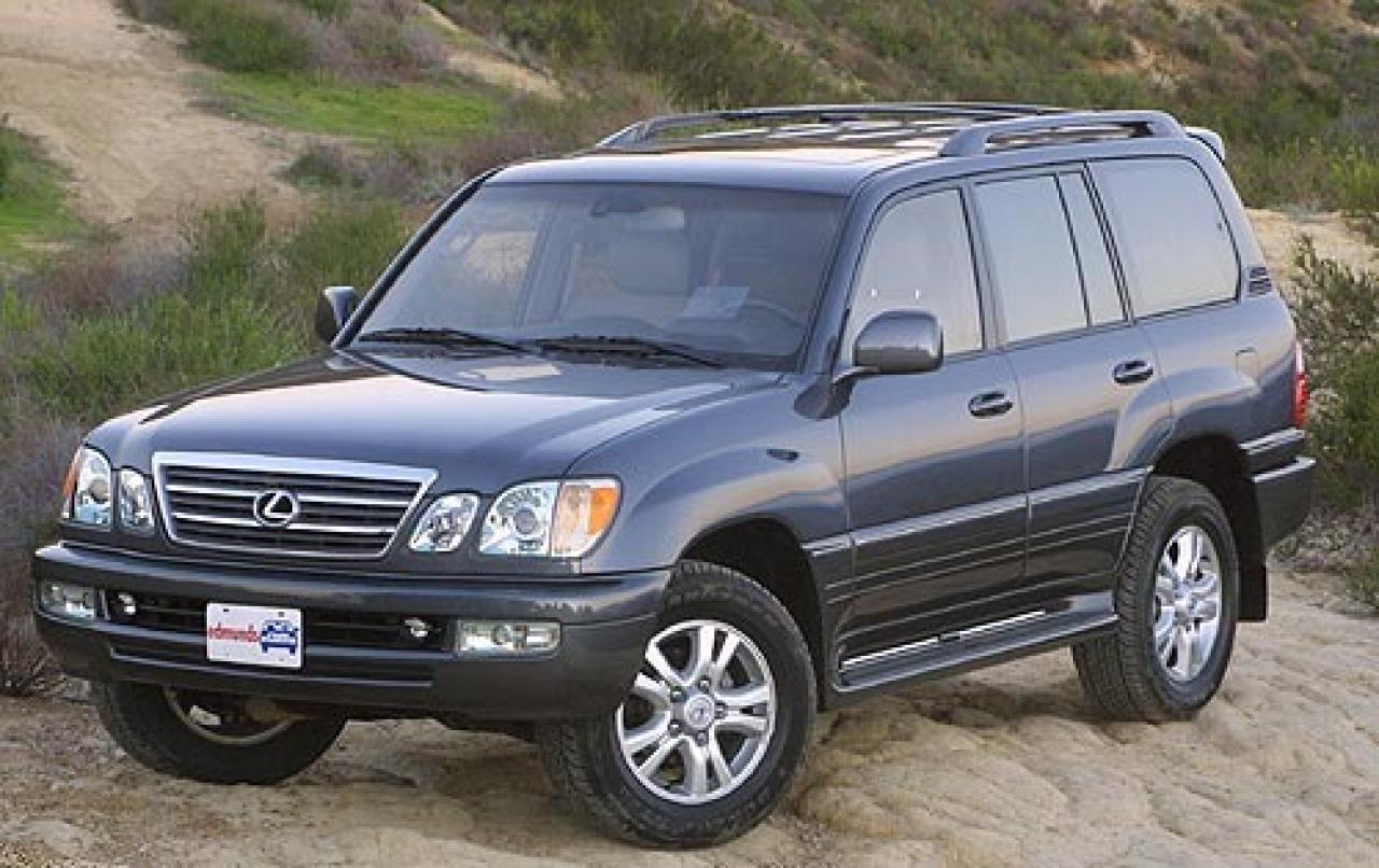 2005 lexus lx 470 information and photos zombiedrive. Black Bedroom Furniture Sets. Home Design Ideas