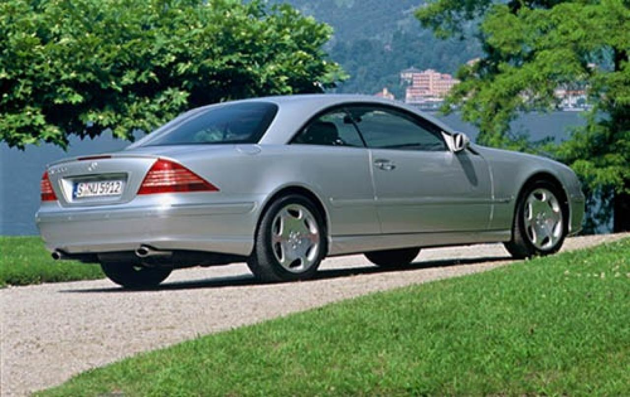 2006 mercedes benz cl class information and photos for Mercedes benz cl class
