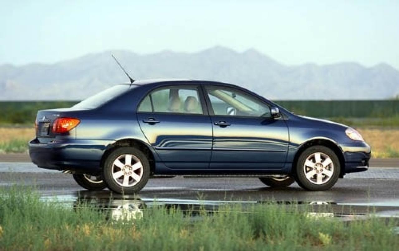 2004 toyota corolla information and photos zombiedrive. Black Bedroom Furniture Sets. Home Design Ideas