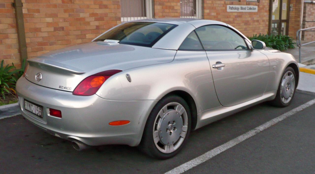 2004 Lexus SC 430 - Information and photos - ZombieDrive