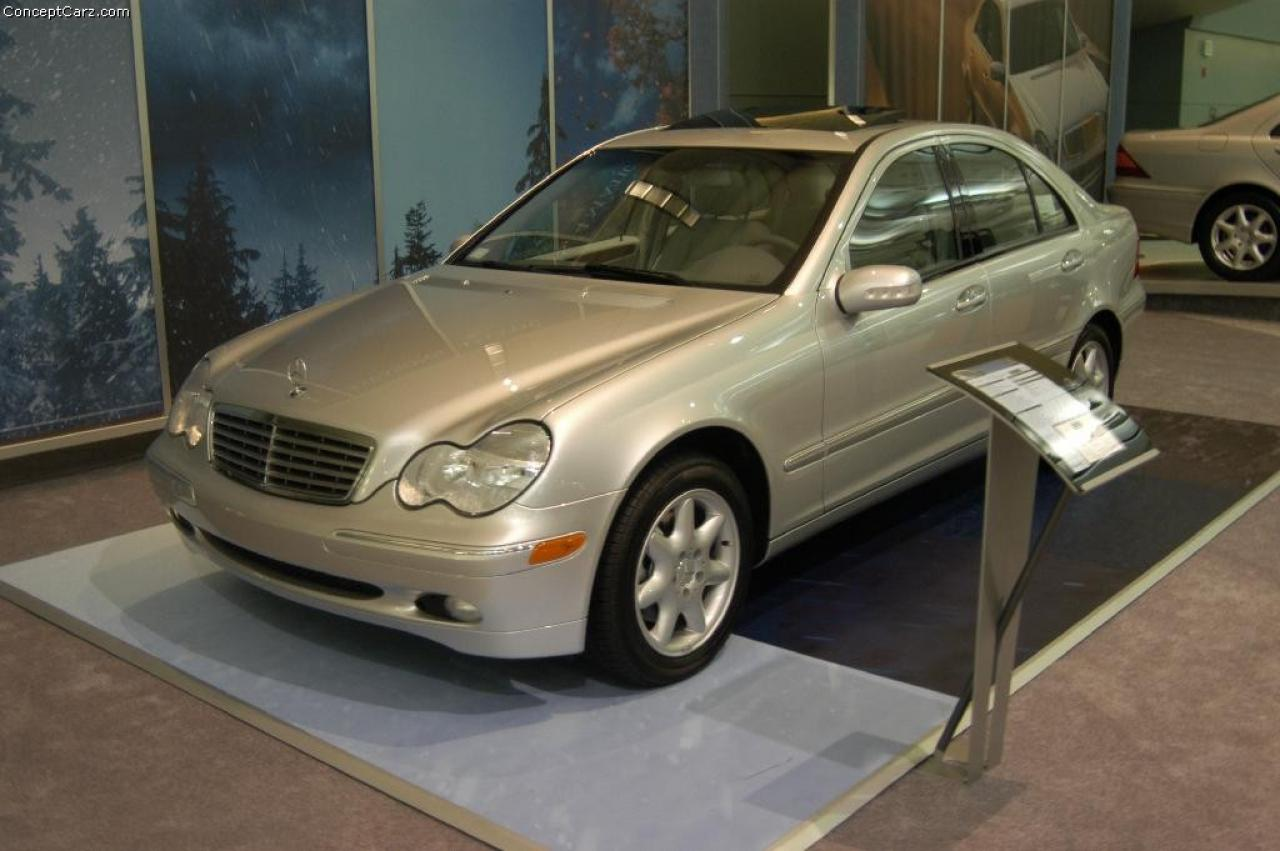 2004 mercedes benz c class information and photos for Facts about mercedes benz