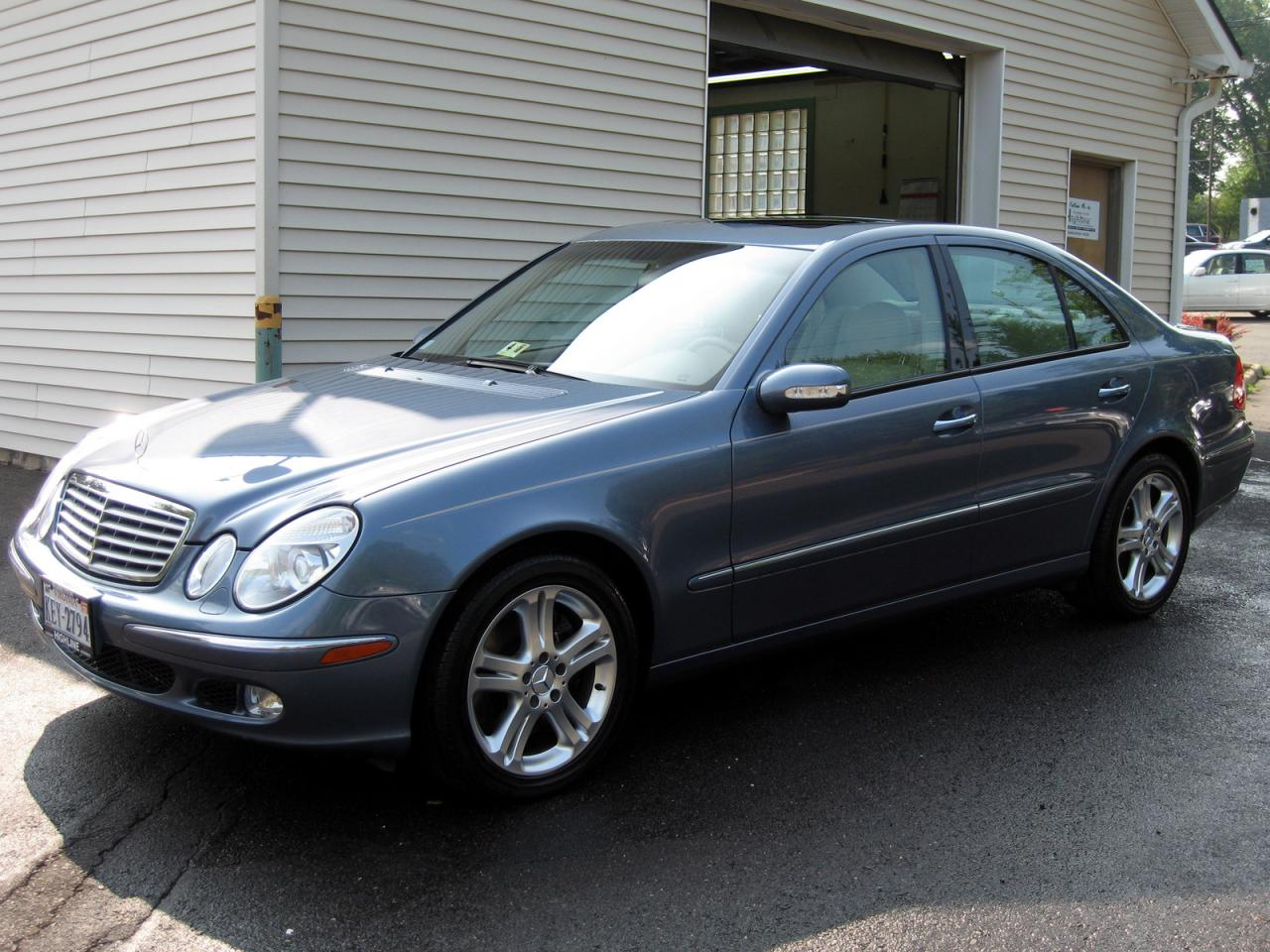 2004 mercedes benz e class information and photos for Facts about mercedes benz