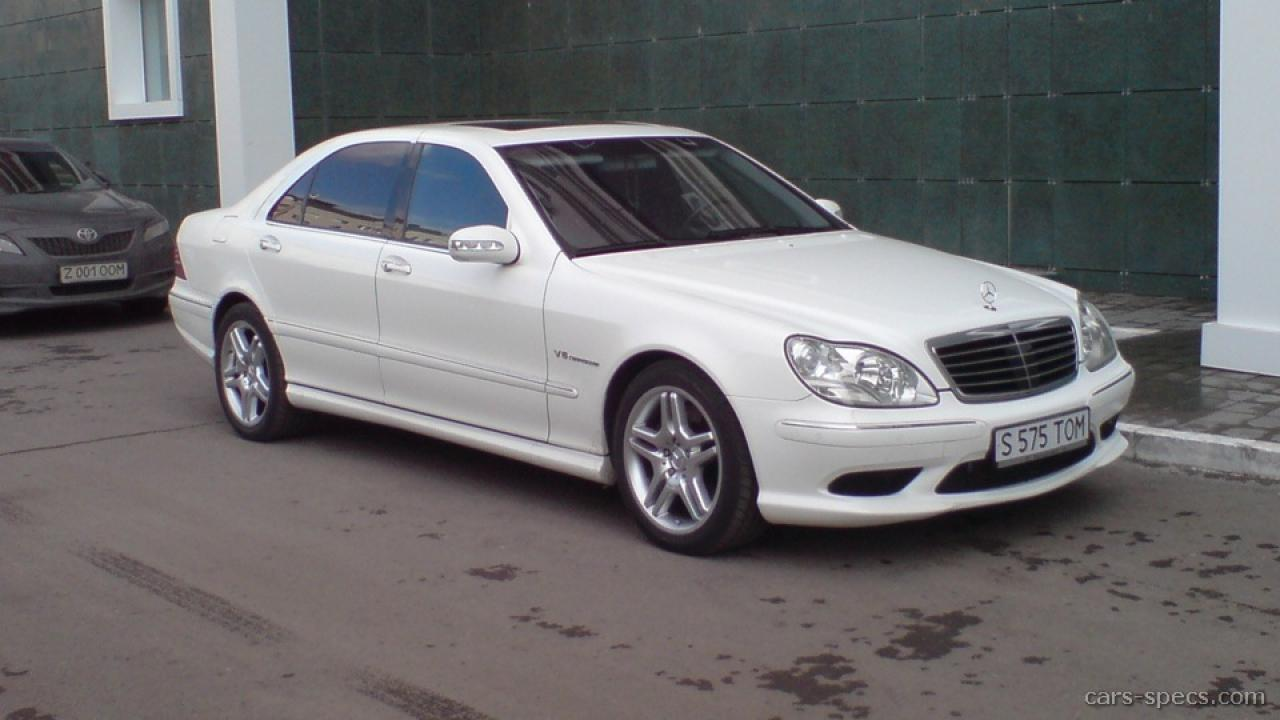 2004 mercedes benz s class information and photos