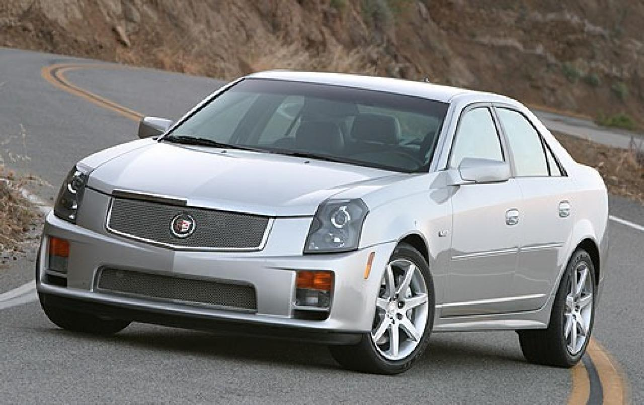 2005 cadillac cts v information and photos zombiedrive. Black Bedroom Furniture Sets. Home Design Ideas