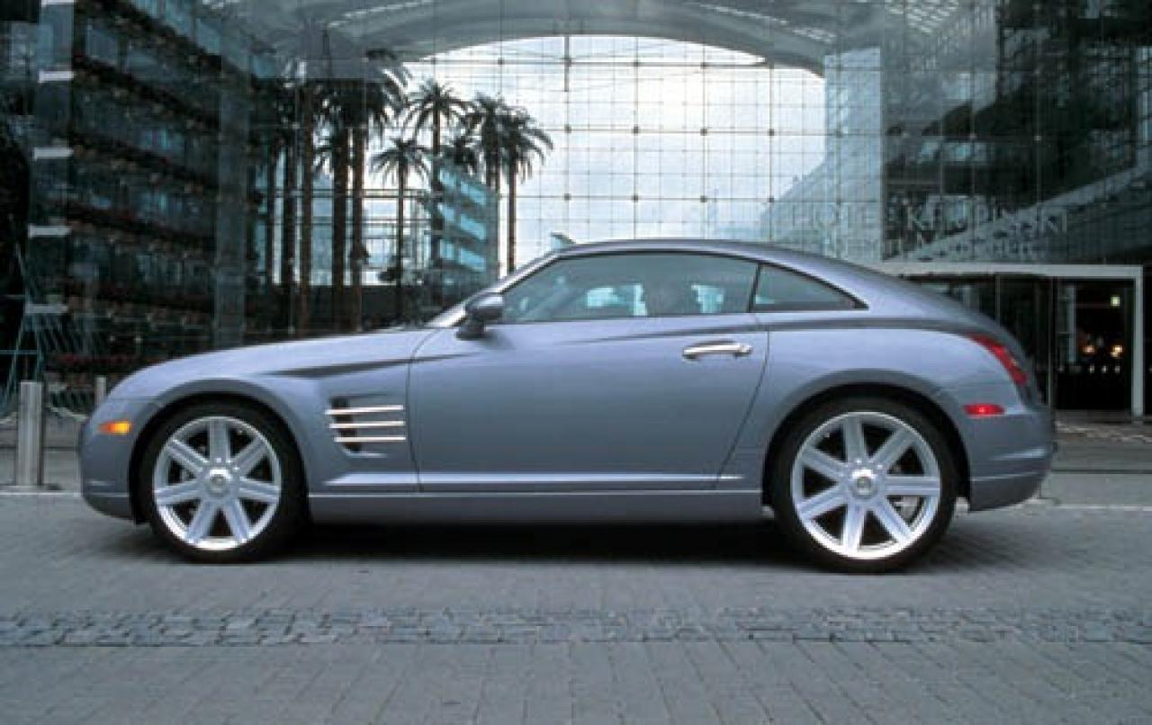 2005 chrysler crossfire information and photos zombiedrive. Black Bedroom Furniture Sets. Home Design Ideas