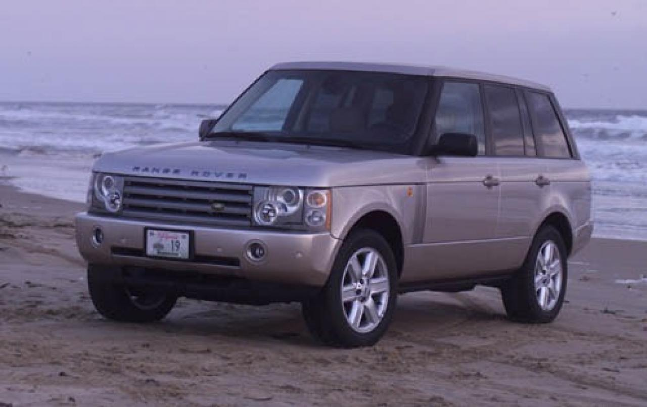 2005 land rover range rover information and photos zombiedrive. Black Bedroom Furniture Sets. Home Design Ideas