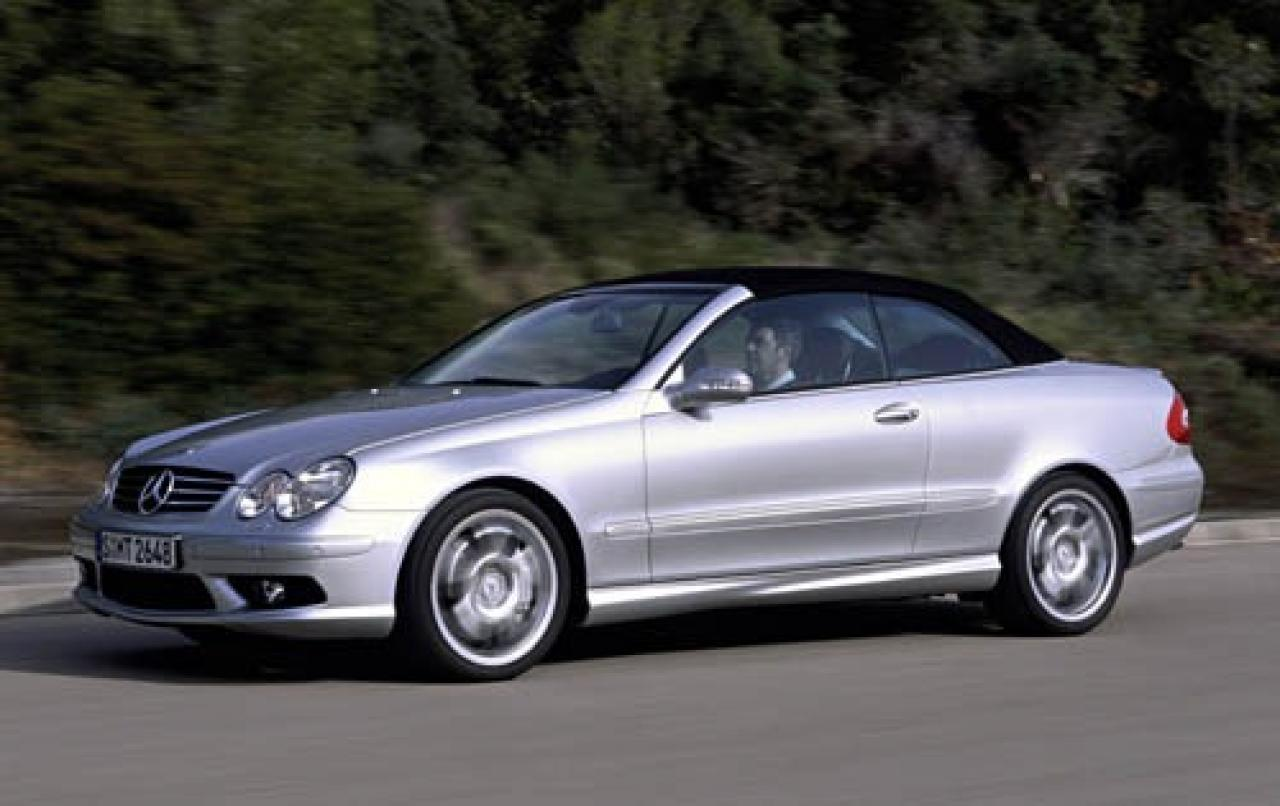 2006 mercedes benz clk class information and photos for Used mercedes benz clk convertibles for sale