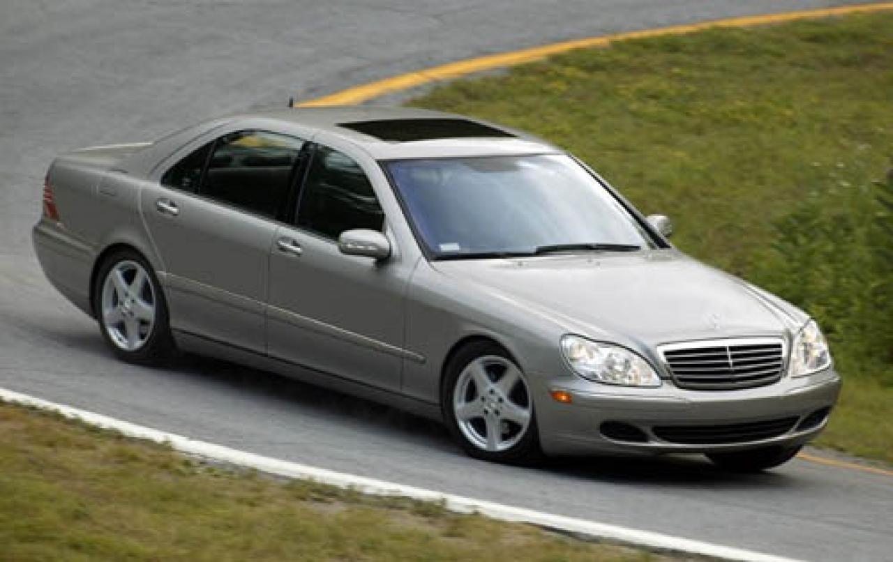2005 mercedes benz s class information and photos for Mercedes benz s class 500