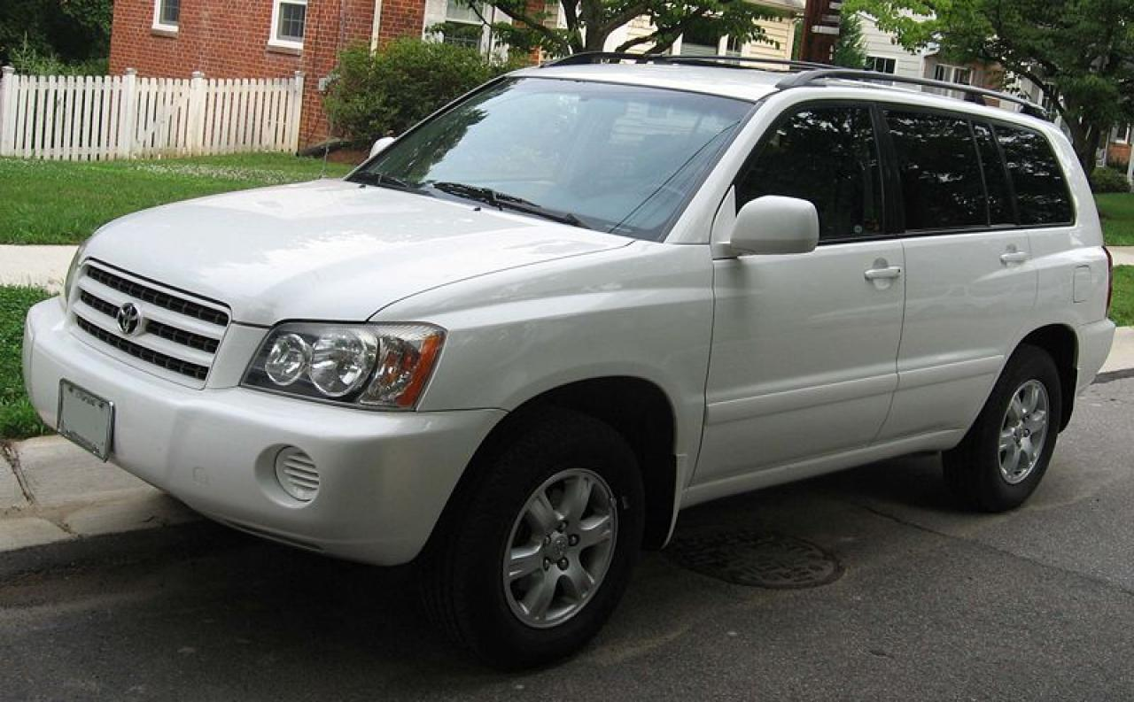 2005 toyota highlander information and photos zombiedrive. Black Bedroom Furniture Sets. Home Design Ideas