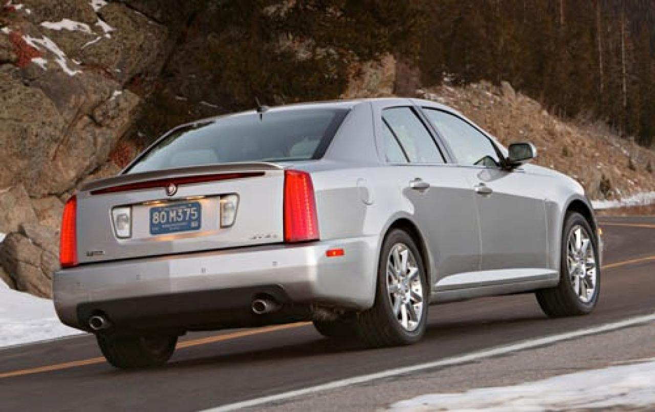 2006 cadillac sts information and photos zombiedrive. Black Bedroom Furniture Sets. Home Design Ideas