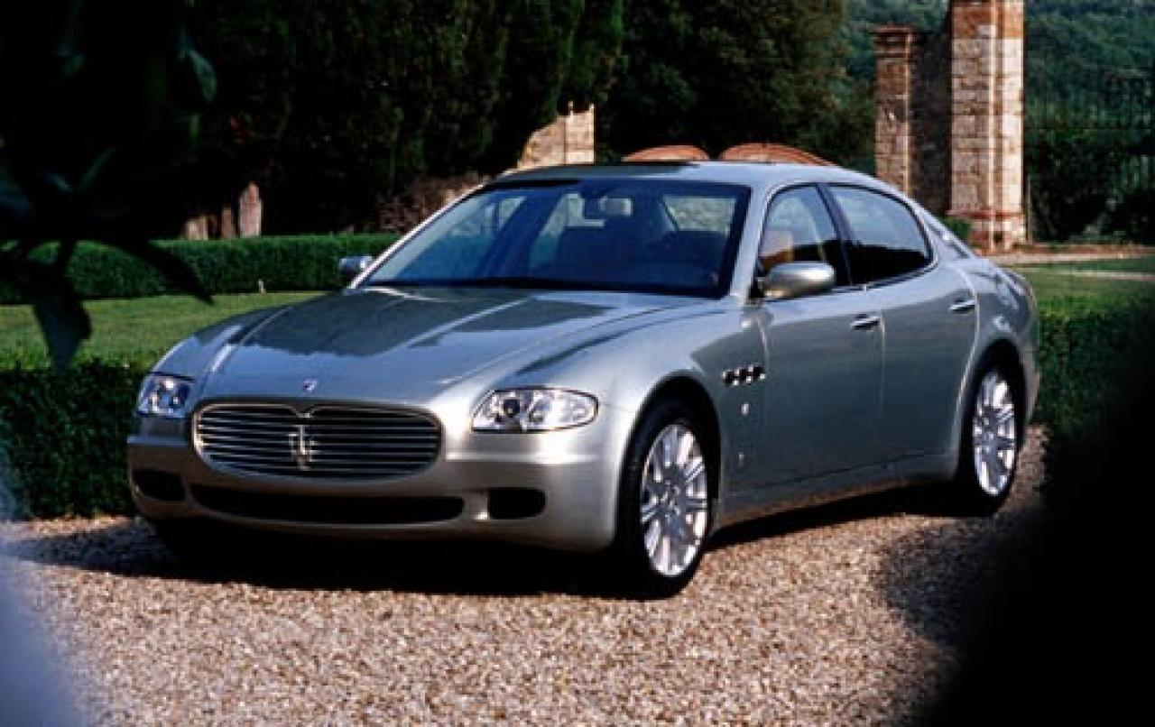 2005 maserati quattroporte information and photos zombiedrive. Black Bedroom Furniture Sets. Home Design Ideas