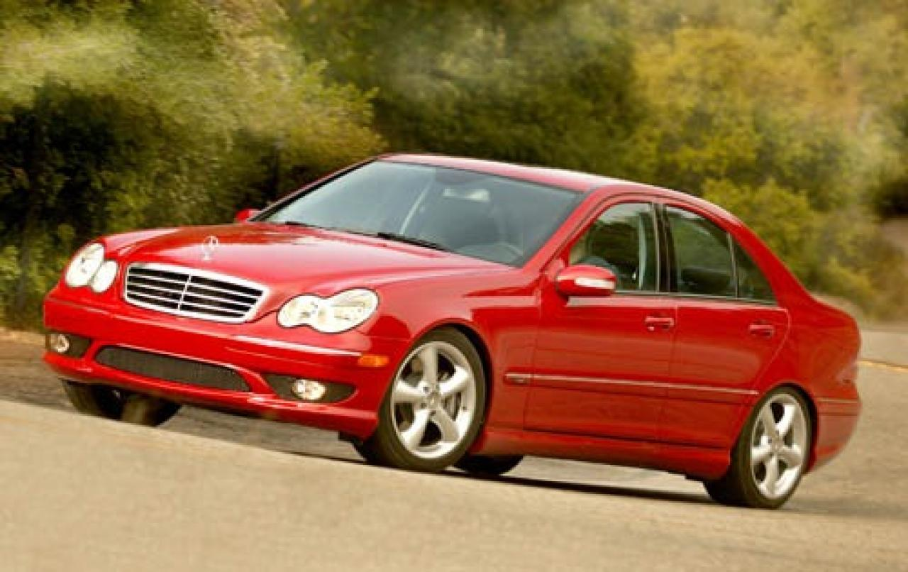 2005 mercedes benz c class information and photos. Black Bedroom Furniture Sets. Home Design Ideas