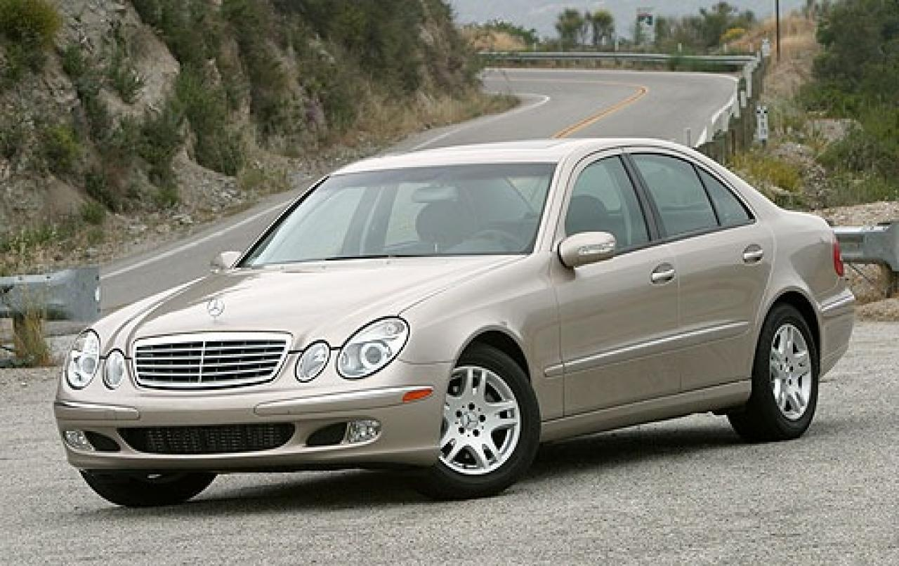 2006 mercedes benz e class information and photos zombiedrive. Black Bedroom Furniture Sets. Home Design Ideas