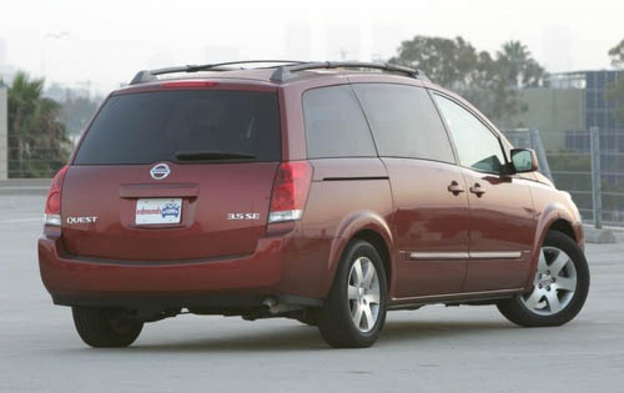 2005 nissan quest information and photos zombiedrive. Black Bedroom Furniture Sets. Home Design Ideas