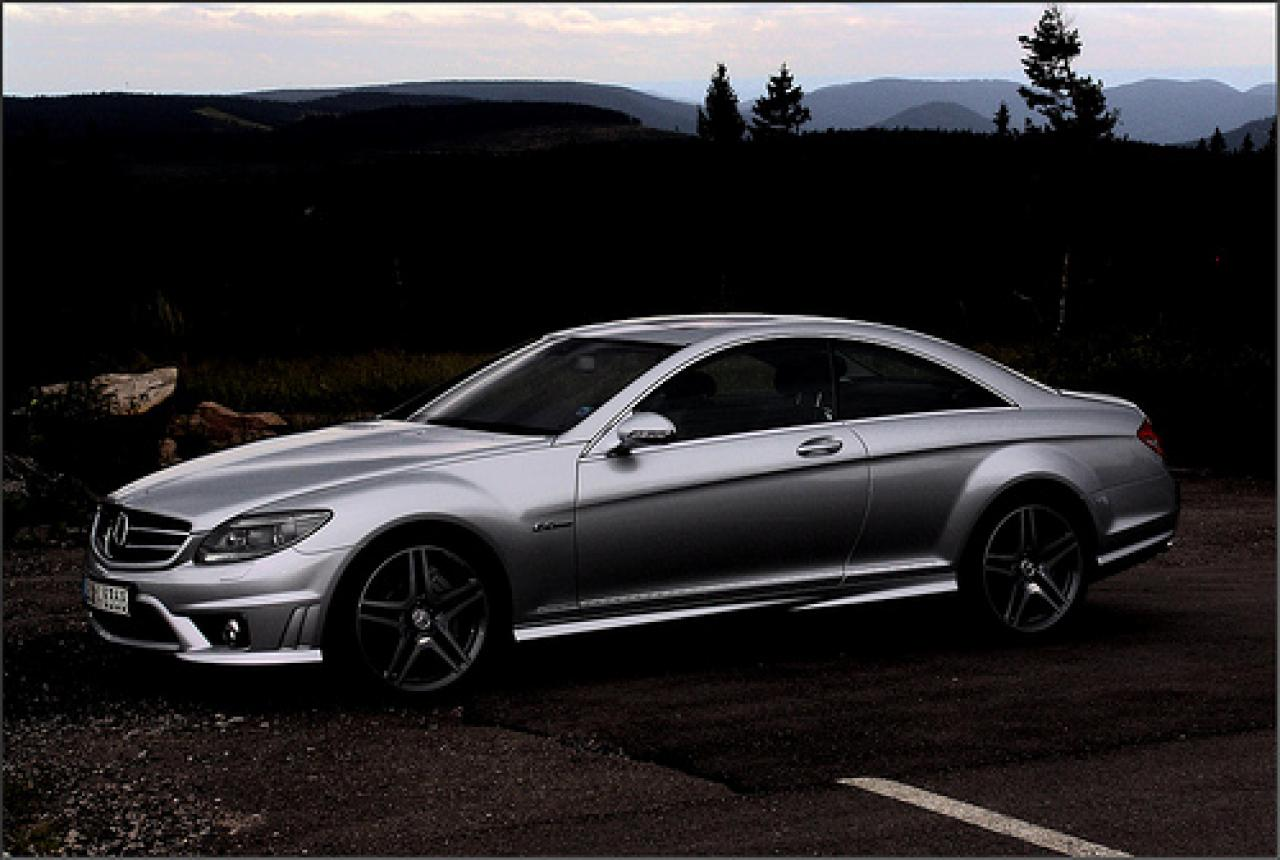 2006 mercedes benz cl class information and photos. Black Bedroom Furniture Sets. Home Design Ideas